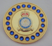 ROYAL AIR FORCE POLICE ( RAFP ) BROOCH / BROACH (GBS)